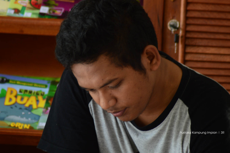 Arif Munandar guru relawan Kampung Impian
