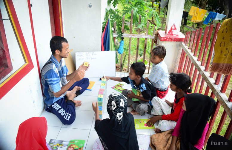 Proses Belajar Mengajar Guru Impian Kelas Membaca Terbata-bata