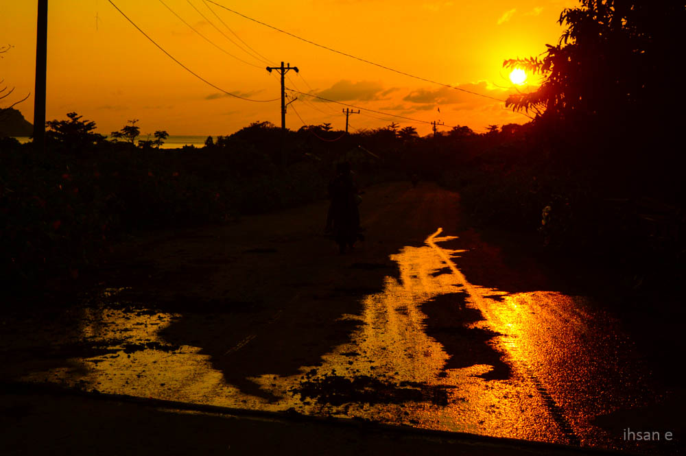 Sunset di Rinon