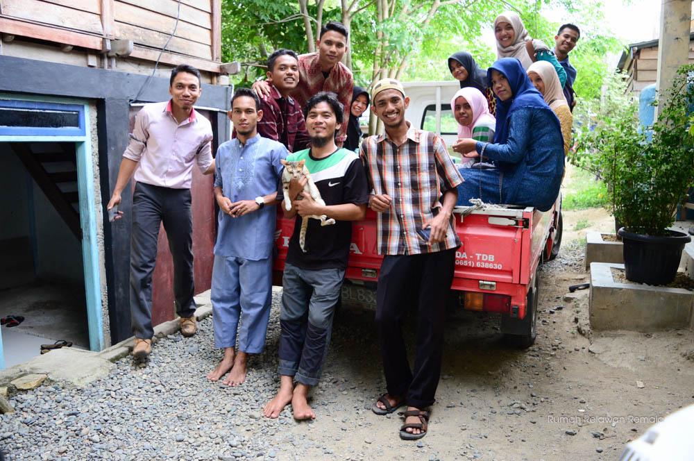 Persiapan buka bersama Rumah Penyantun Mumhammadiyah Banda Aceh