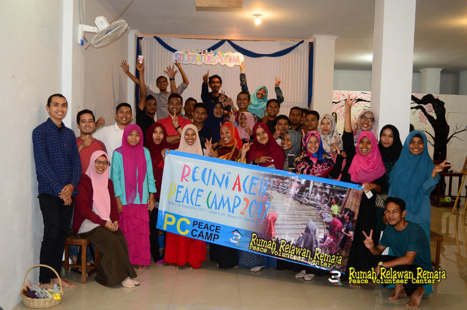 Reuni Aceh Peace camp