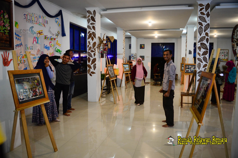 Suasana reuni Aceh Peace Camp 2017