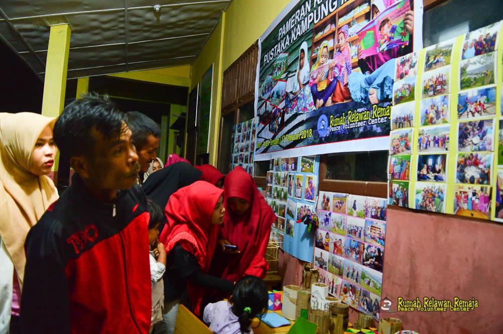 3R Gelar Pameran Karya Pustaka Kampung Impian Di Desa Bah