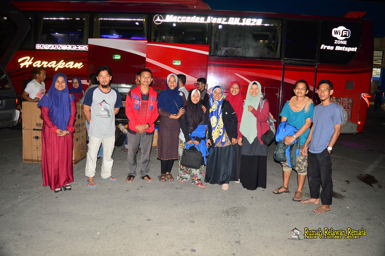 Pemberangkatan Guru Pustaka Kampung Impian Tahun Kedua di Desa Baling Karang
