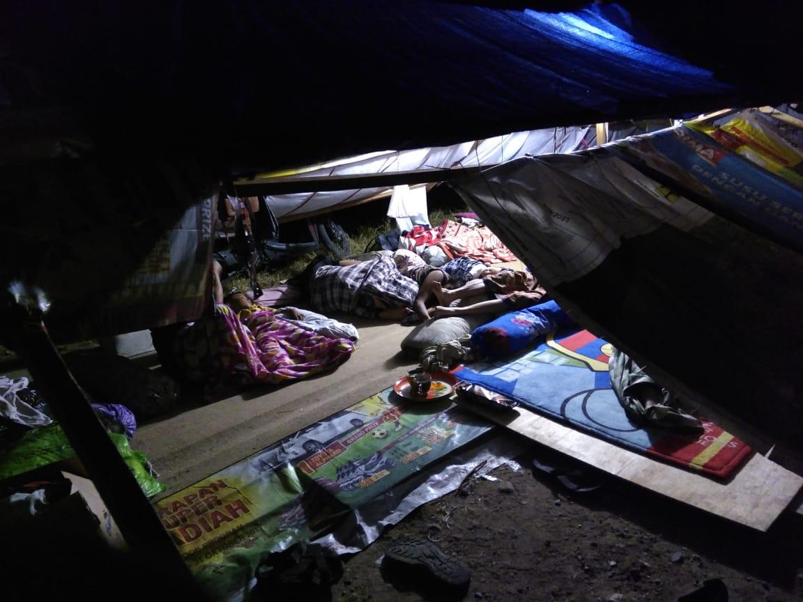 Update Dari Lokasi Pengungsi di Jono.