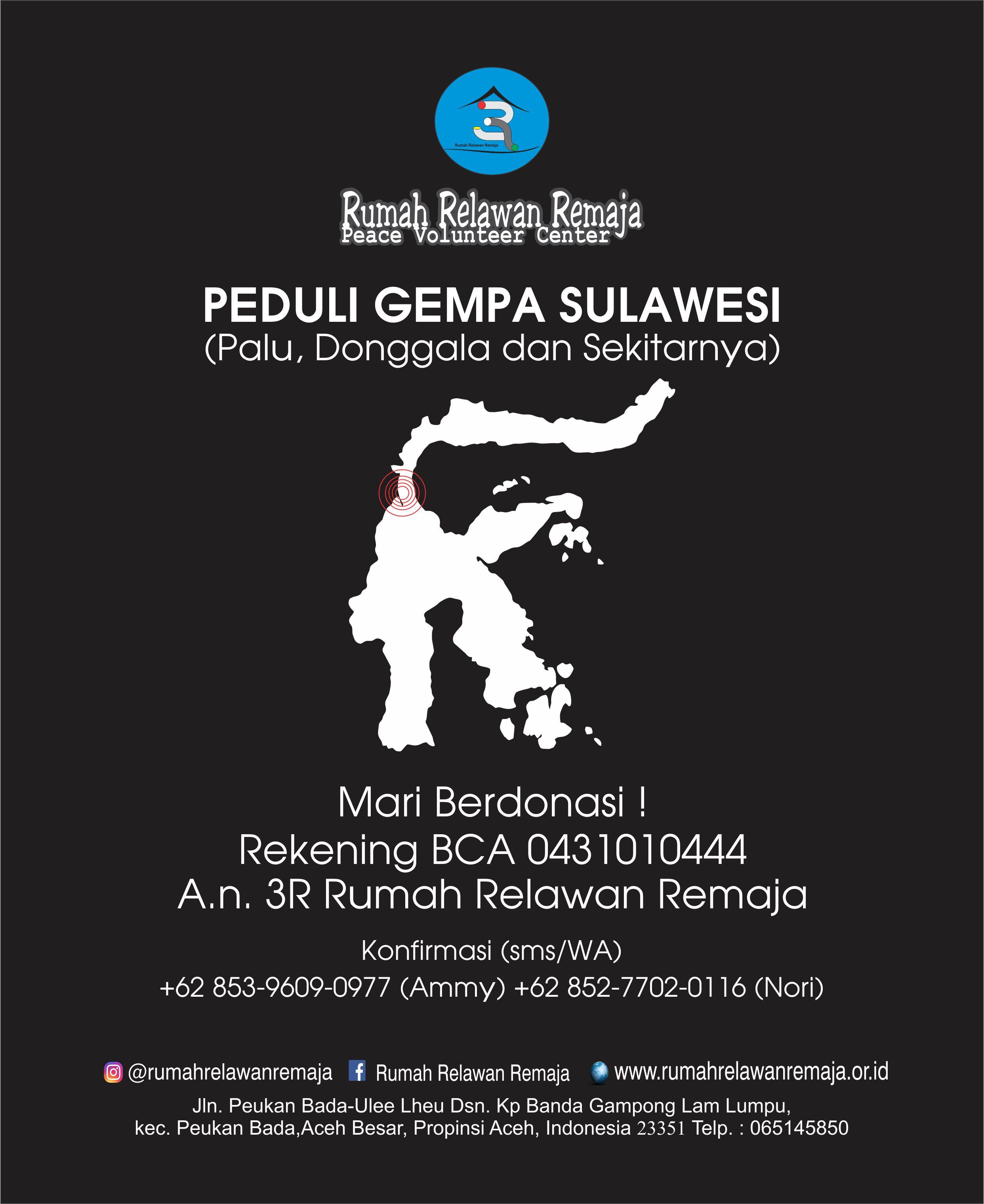 Tingkatkan Sinergitas dalam Membantu Para Korban di Sulawesi Tengah