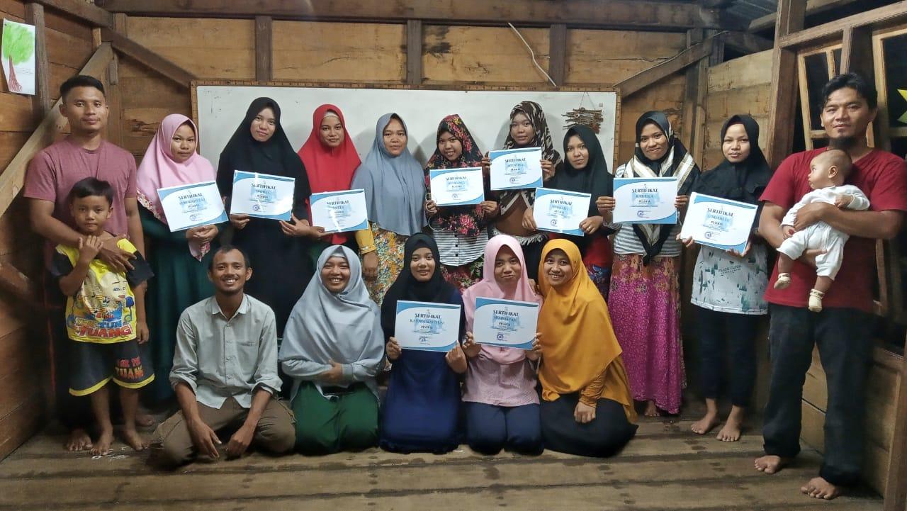 Di Balik Keseruan Pelatihan Menjahit Untuk Para Pemudi Dari 5 Desa