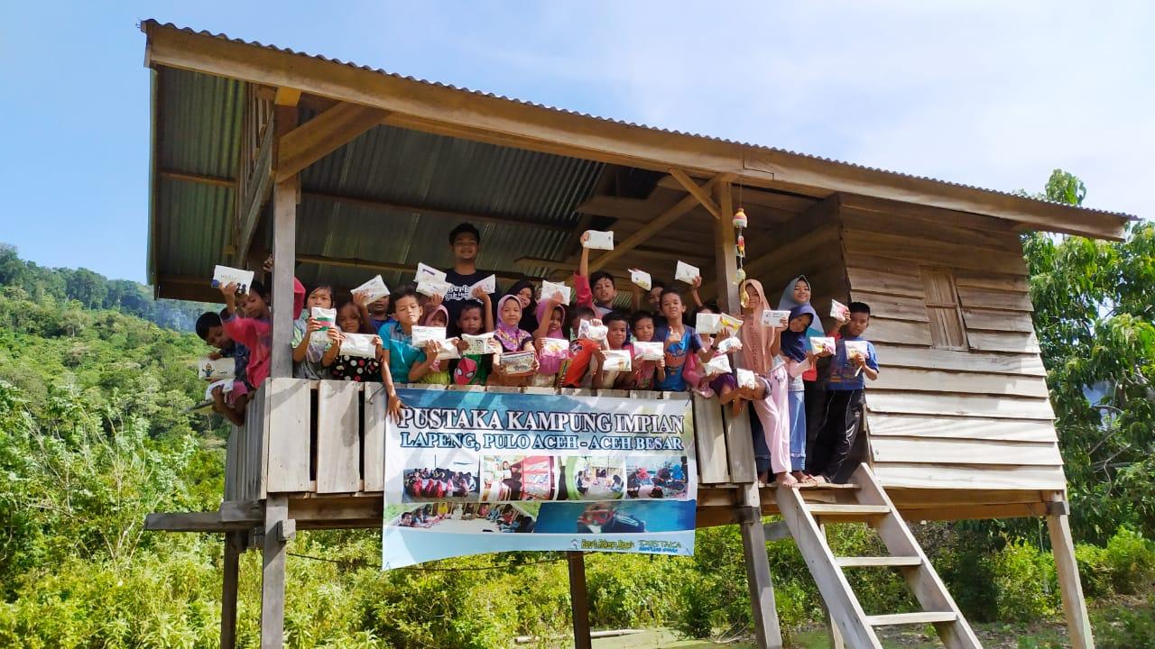 Para Relawan 3R Persiapkan Pameran Karya PKIP dengan Penuh Semangat