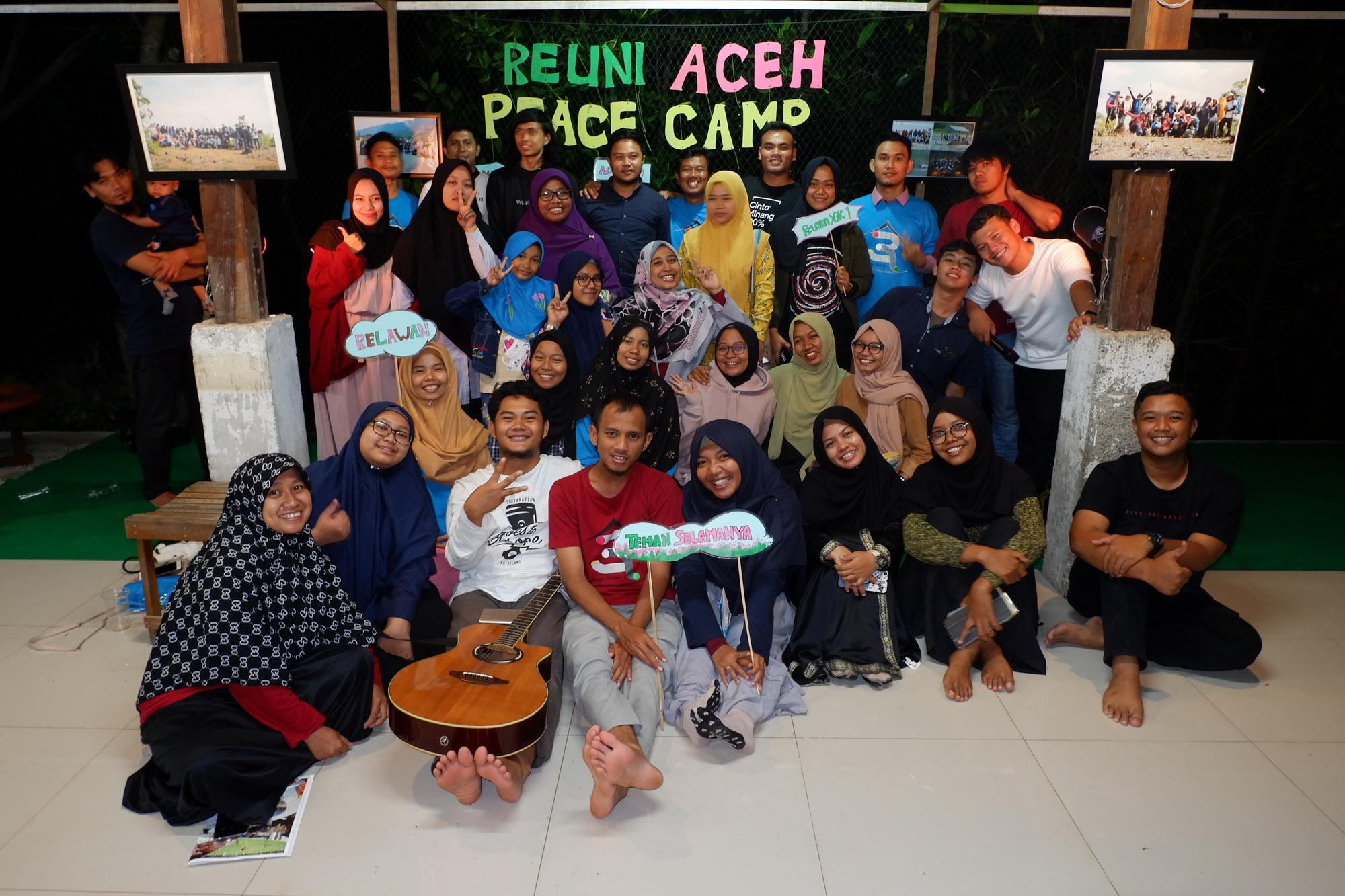 Reuni Aceh Peace Camp; Tiada Hari ini Tanpa Usaha Masa Lalu
