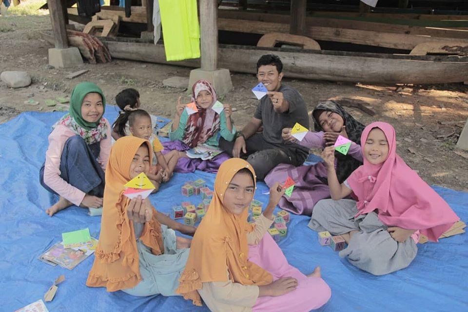 Children's Reading Interest in Sarah Baru Village