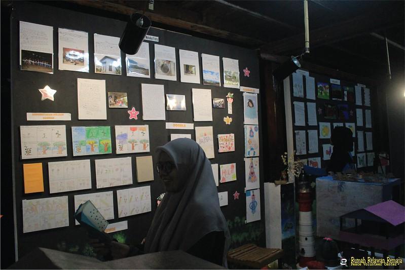 Sebuah Ungkapan Terima Kasih untuk Relawan Pameran Virtual Pustaka Kampung Impian