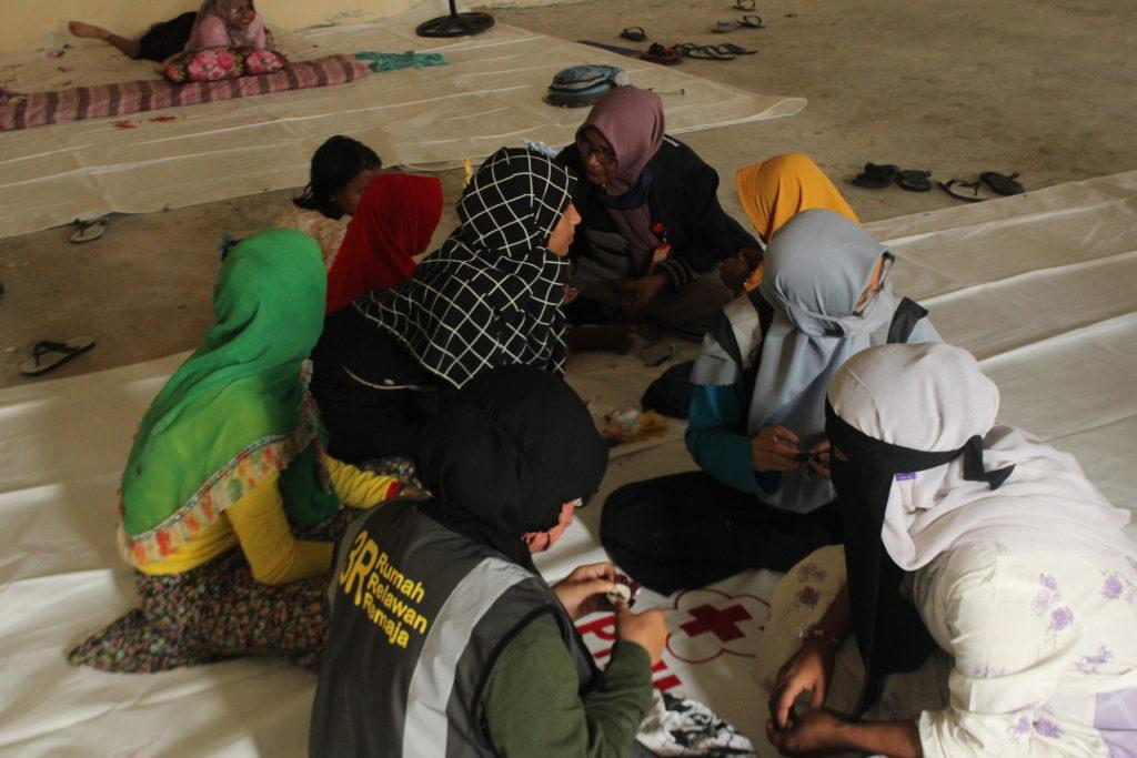 Sekolah Damai Untuk Rohingya di Lhokseumawe